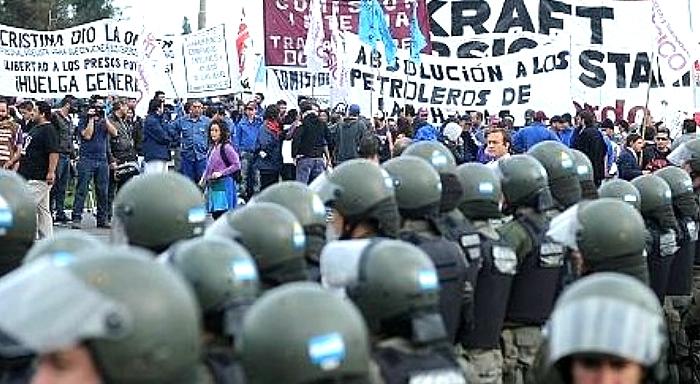 """Argentina: No a las leyes """"antipiquetes"""""""