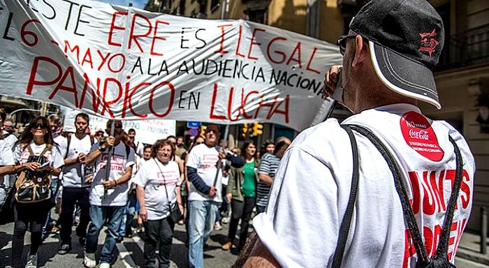 Continuar la lucha contra el chantaje anti-sindical de la empresa y por una negociación a favor de los trabajadores