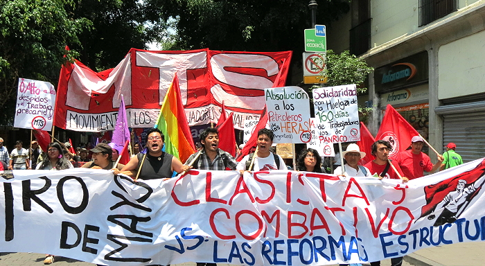 Surge uma nova alternativa operária e socialista no México
