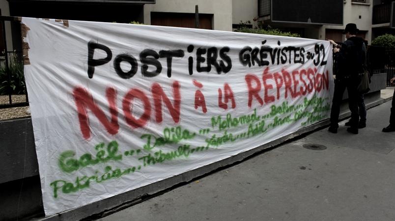 Tentative de briser la grève des postiers du 92 en criminalisant l'action syndicale