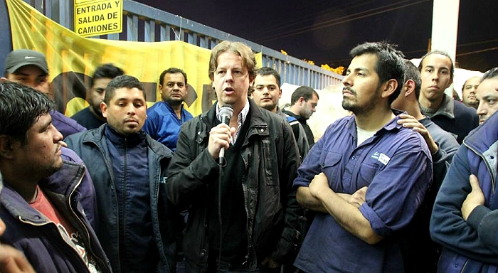 Argentina: Gestamp struggle / Provincial Deputy Christian Castillo rejects minister of industry's statement justifying the lay-offs at Gestamp