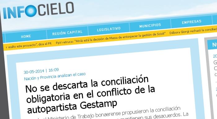 Nación y Provincia analizan el caso: No se descarta la conciliación obligatoria en el conflicto de la autopartista Gestamp