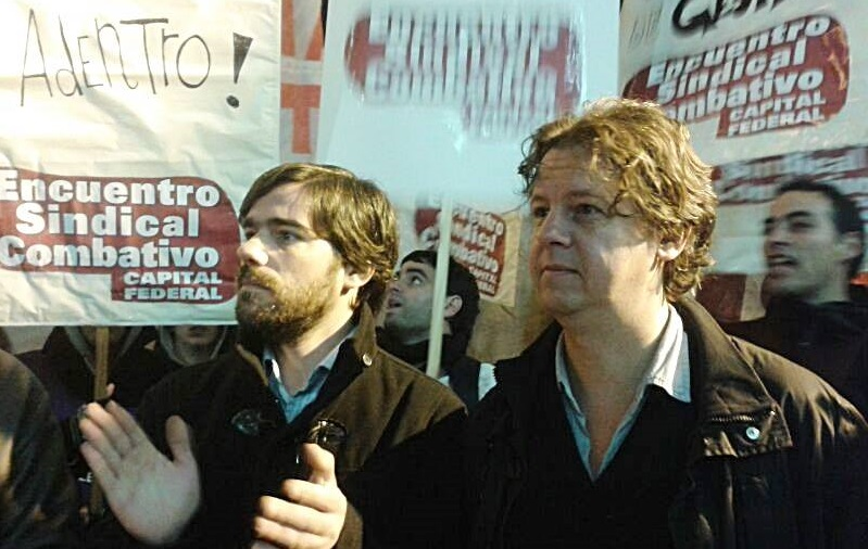 """Nicolás del Caño y Christian Castillo: """"La burocracia sindical llama a seguir el camino de Pedraza"""""""