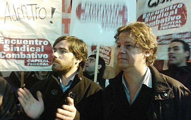 Nicolás Del Caño e Christian Castillo: