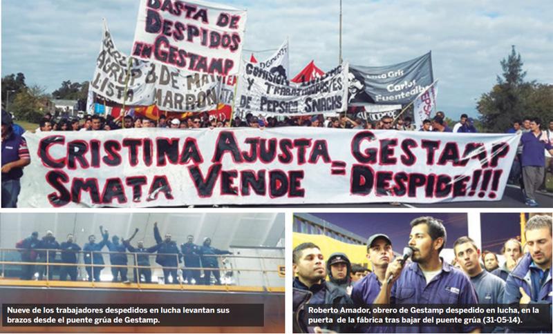 Scioli y Cristina, a los pies de la burocracia, al servicio de Gestamp