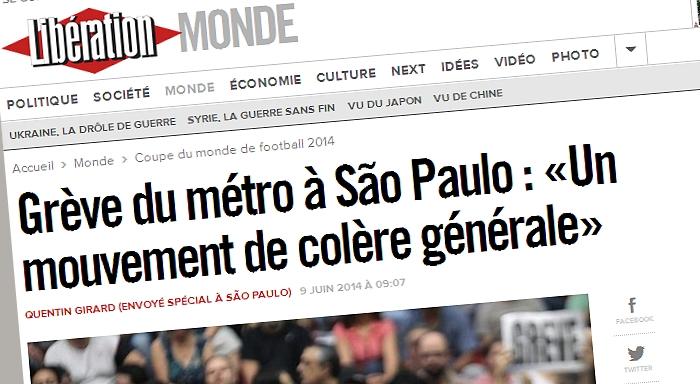 """Huelga del metro en San Pablo: """" Un movimiento de cólera general"""""""