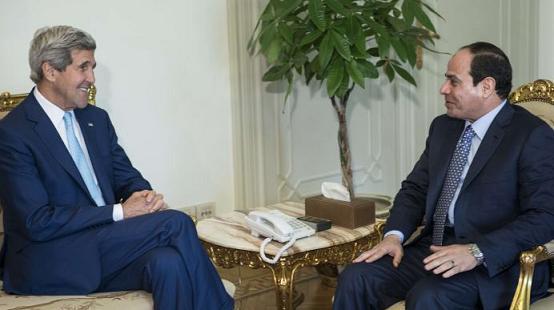 ¿A qué viajo John Kerry a Egipto?