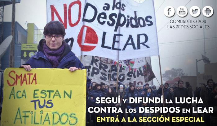 Lear Corporation: Directivos multimillonarios, trabajadores precarizados