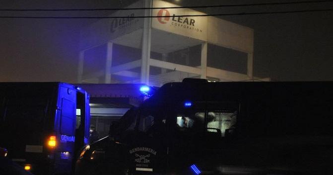 Argentina: fábrica Lear, paralisação total e mais de três horas de corte