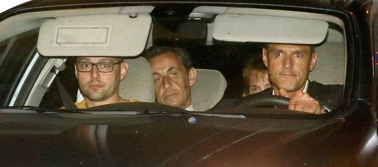 Sarkozy detenido y procesado