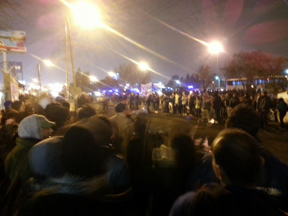 Argentina. Lear Corp.: We stopped the eviction tonight but the judge still holds his eviction order