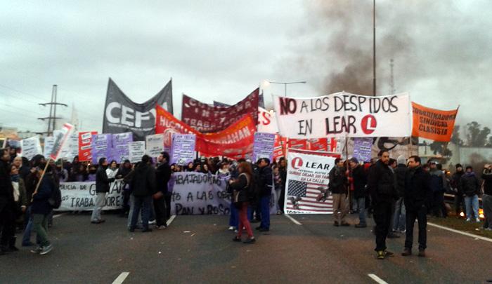 Grande jornada nacional de luta contra as demissões na autopeças Lear