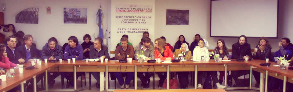 Argentina: Lear workers announced a new national day of action and struggle plan