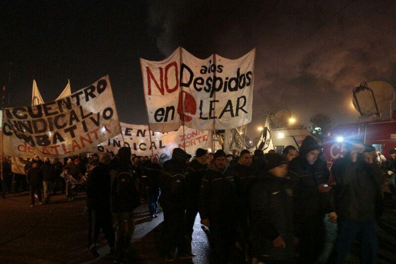 No al ajuste y la represión. ¡Basta de suspensiones y despidos!