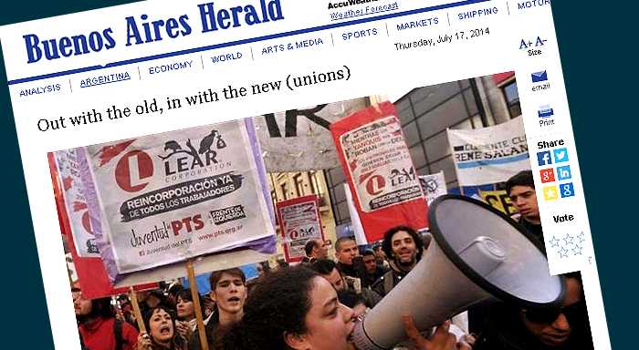 From Lear, Gestamp conflicts emerge left-wing, independent groups
