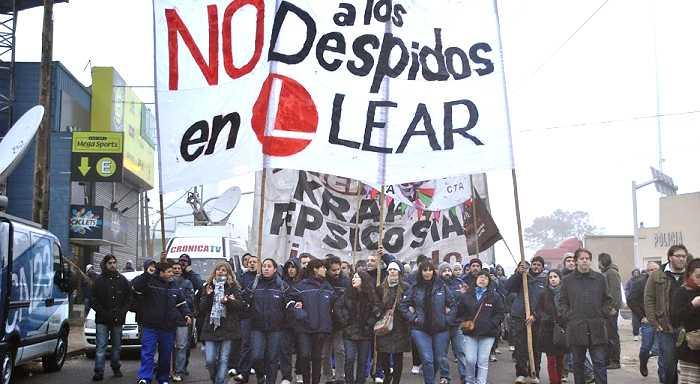 Argentina: Despidos masivos en Lear