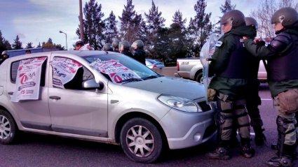 Paro, piquete y caravana: arrancó la tercera jornada nacional por Lear