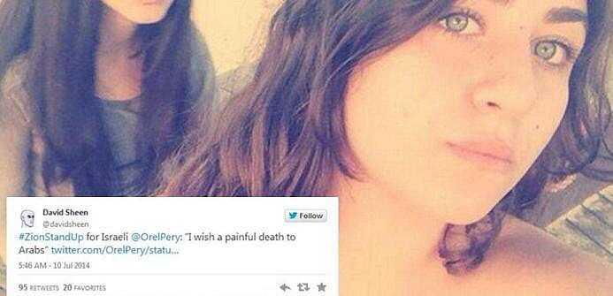 Las selfies del odio y el racismo del Estado de Israel