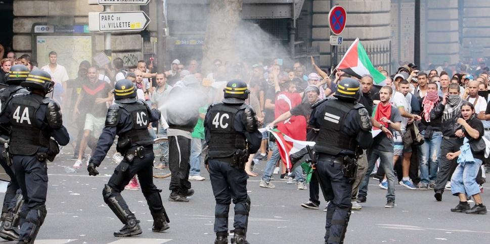 Hollande-Valls cherchent a criminaliser le soutien aux palestinien-ne-s!