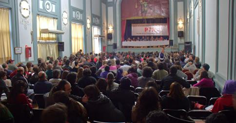 XIV CONGRESS of the Partido de los Trabajadores Socialistas (PTS)
