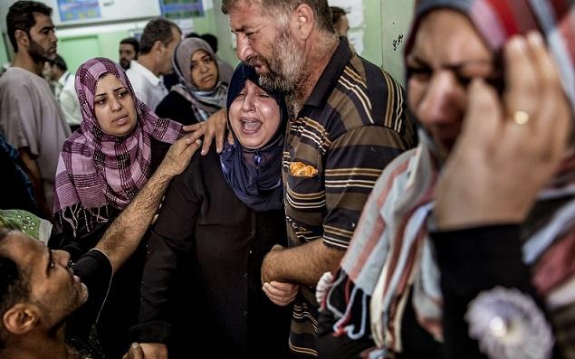 The international legitimation of the massacre in Palestine