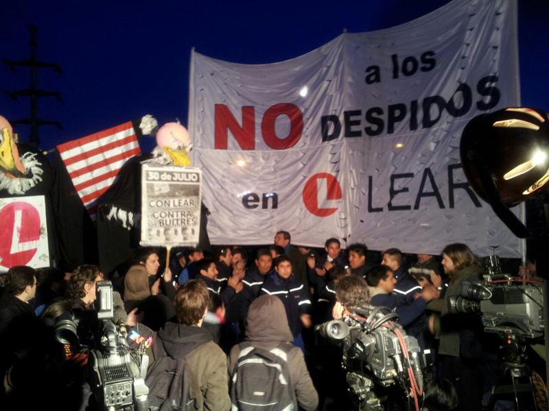 Quatrième journée nationale de lutte: L'usine Lear paralysée