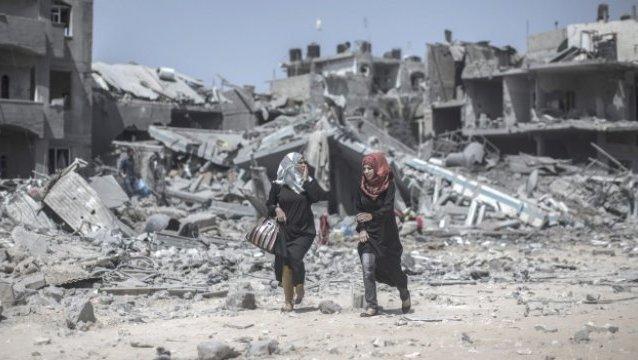 Tregua y retirada israelí de la Franja de Gaza