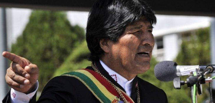 Evo Morales acusa a Israel de Estado terrorista