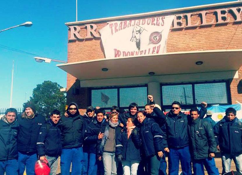 Obreros y obreras de LEAR y de Donnelley convocan a encuentro de trabajadores en lucha