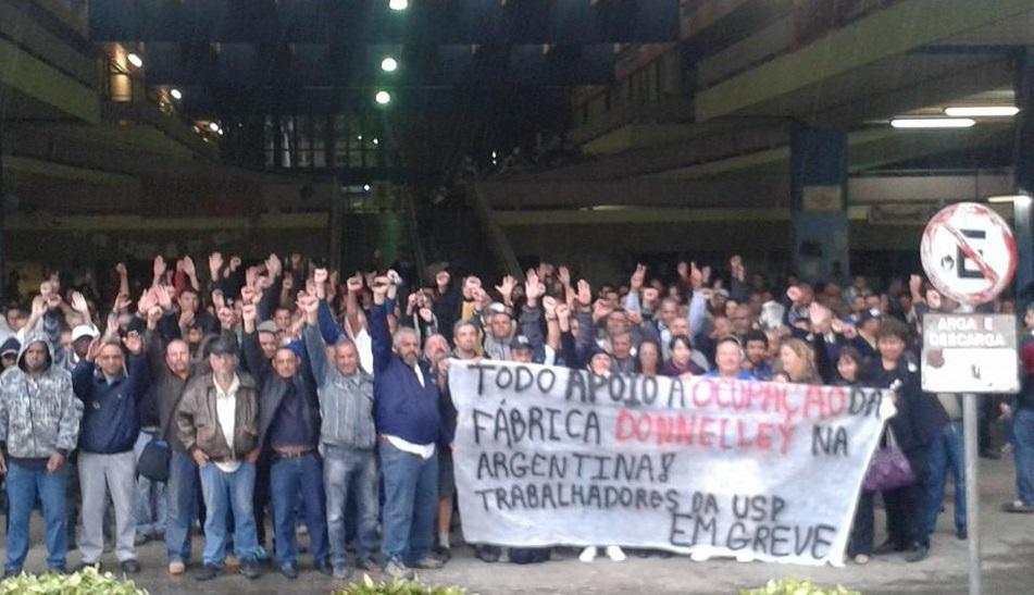 80 días de huelga de los trabajadores de la Universidad de San Pablo