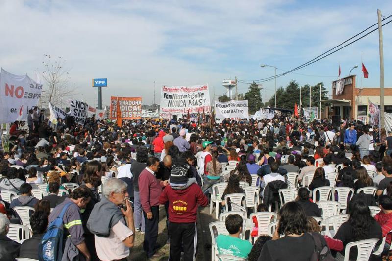Con más de tres mil trabajadores comenzó el Encuentro convocado por las Internas Lear y Donnelley