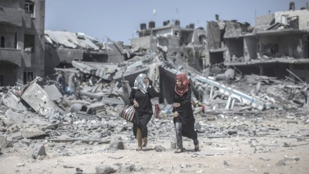 A Truce and an Israeli Withdrawal from the Gaza Strip