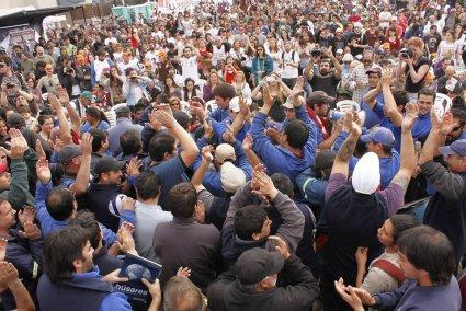 Argentine: Importante rencontre de travailleurs