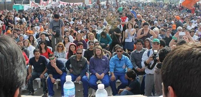 Großes ArbeiterInnentreffen in Buenos Aires