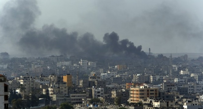 They are bombing Gaza again