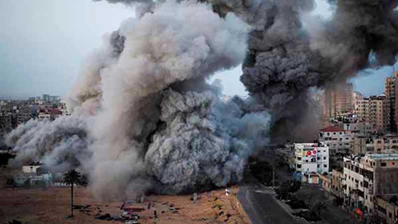 Vuelven a bombardear Gaza