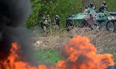 Contraofensiva de los rebeldes prorrusos en Ucrania