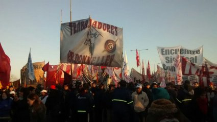 Argentina: August 28th-Millions of workers went on strike around the country