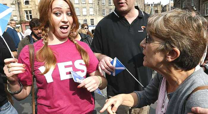 Desesperación en la clase dominante británica por el referéndum en Escocia
