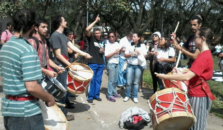 """El """"Día 100"""" de la huelga de la Universidad de San Pablo:"""