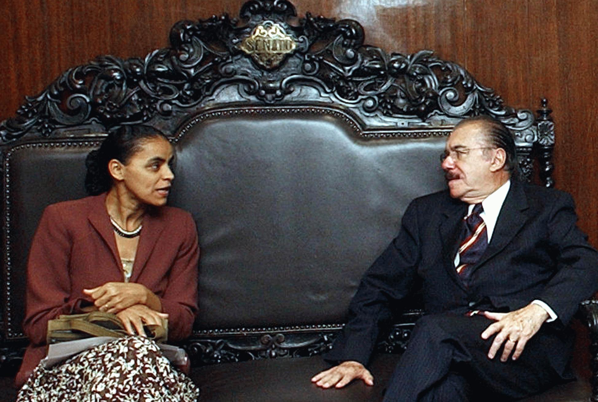 """Marina Silva é parte da """"velha política"""""""