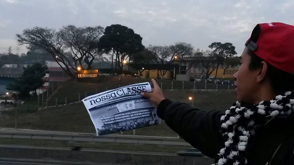 Desde Brasil: Solidaridad con los trabajadores de Donnelley