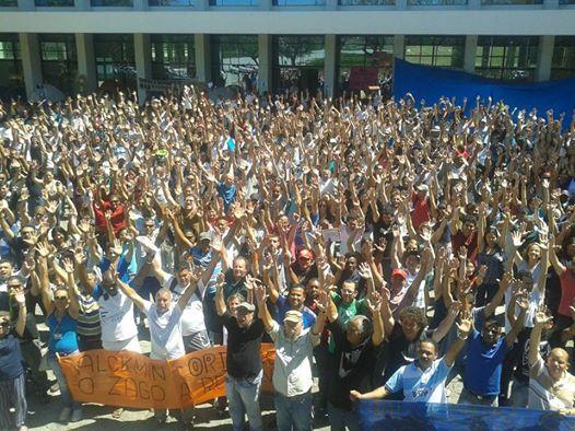 Tras más de 100 días de huelga llegan a un preacuerdo los trabajadores de la USP