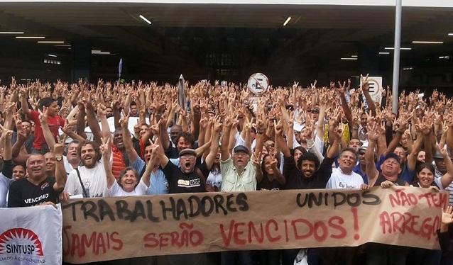 Tras 116 días, los trabajadores de la USP vencen y finalizan la huelga