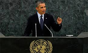 Obama señala a Rusia y al Ejército Islámico como los enemigos ante la ONU