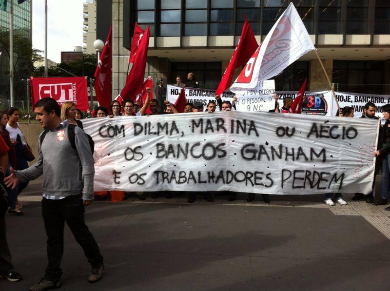 Huelga de bancarios: una lucha abortada por la presión electoral del PT