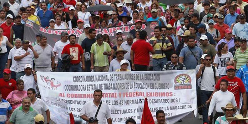 Un amplio movimiento democrático en las calles mexicanas