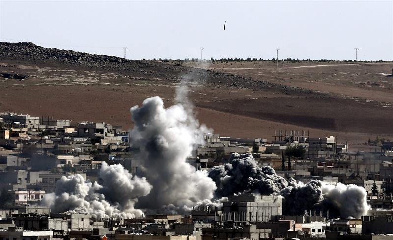 La intervención norteamericana en Siria e Irak