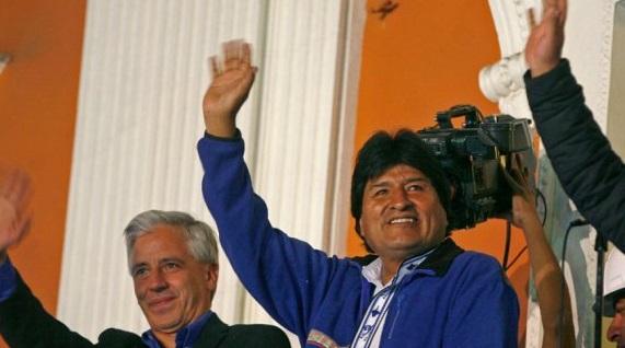 El triunfo Evo Morales