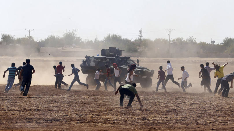 Resistência curda na Síria altera a postura dos EUA